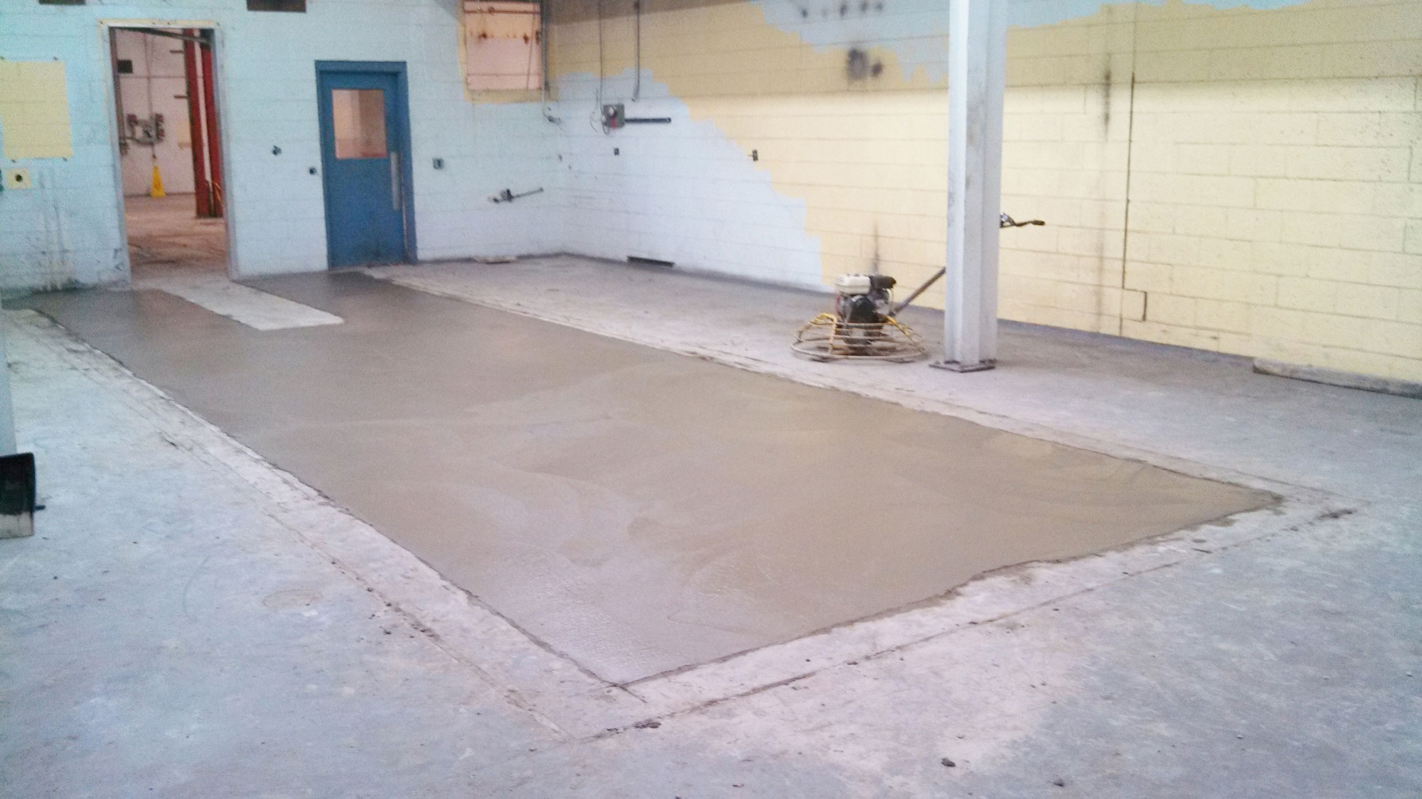 Concrete clearview construction services llc for Concrete flooring service